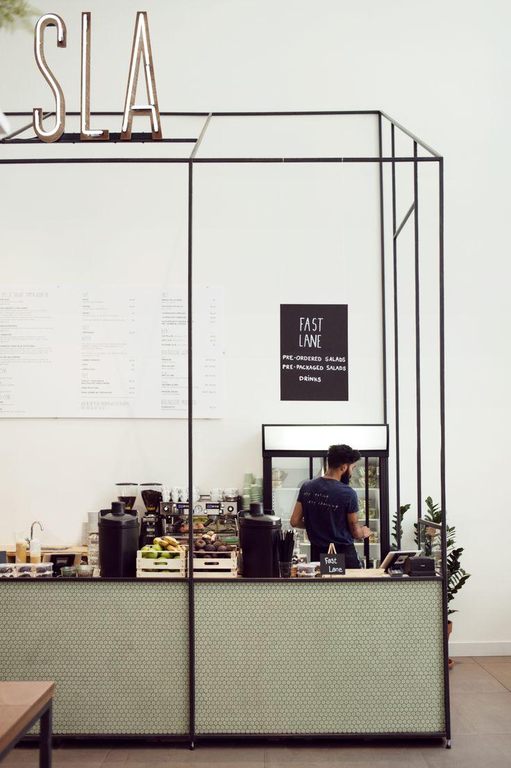 #delimitation espace food SLA Zuidas, SLA, SLA Amsterdam, SLA Ganbaroo, Travel Rumors, superfoods, juices amsterdam, sla amsterdam, restaurant amsterdam, gezond eten amsterdam