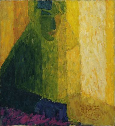 František Kupka. The Musician Follot. 1911? (dated on painting 1910)