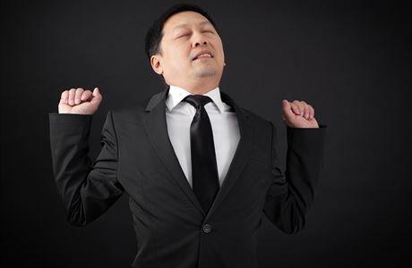 Symbol síly? V Japonsku spánek i na veřejnosti