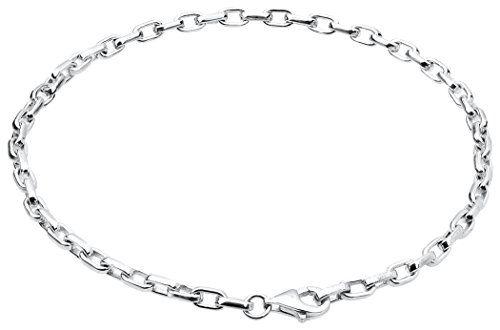 Nenalina Charm Tr�ger Armband, passend f�r alle g�ngigen Charms, breite 3 mm, L�nge bis 22 cm verstellbar, 925 Sterling Silber, 873009-022