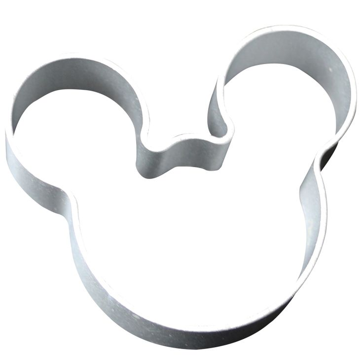 1PCS Lovely Cartoon Mickey Mouse Shape Metal Cookie Cutters DIY Baking Tools Fruit Fondant Mold Decorating Biscuit Cake Mould  #Affiliate