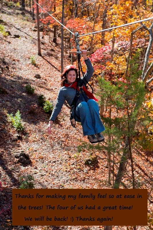 Branson Zipline Canopy Tours at Wolfe Creek Preserve