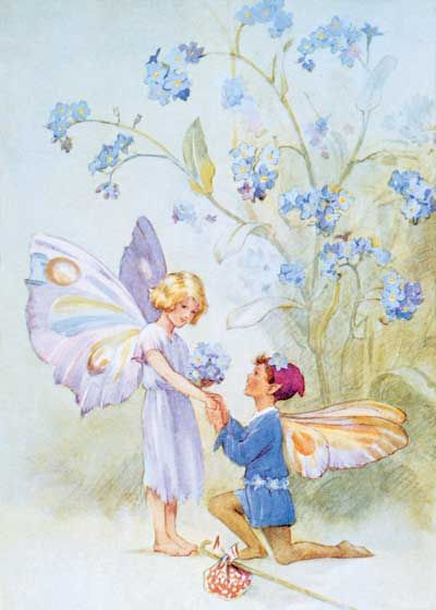 Fairy Love, Margaret W. Tarrant