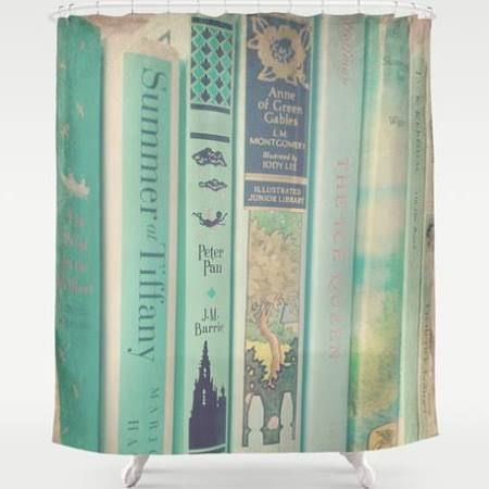 mint green shower curtain - Google Search