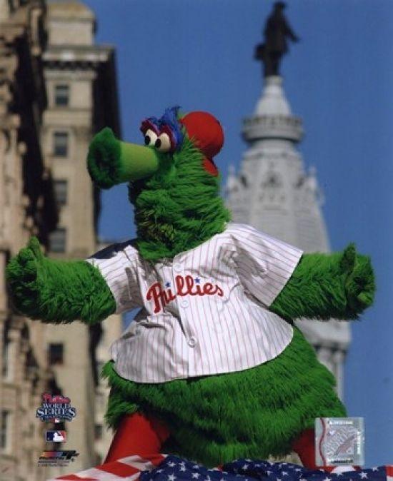 The Philly Phanatic 2008 World Series Parade Sports Photo - Item # VARPFSAAKN065 - Posterazzi