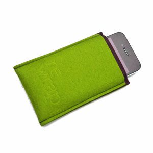 Custodia iPhone green by Re Wrap