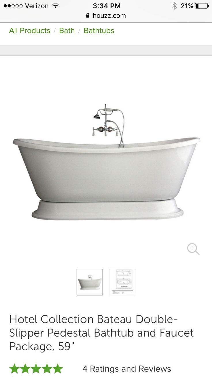 https://www.houzz.com/photos/17968191/Hotel-Collection-Bateau-Double-Slipper-Pedestal-Bathtub-and-Faucet-Package-59-contemporary-bathtubs