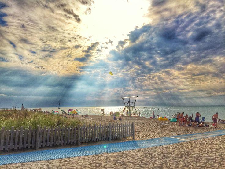 Grand Bend beach, Lake Huron Ontario