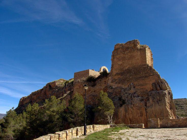 Alpuente 2015 04: vista del Castillo de Alpuente