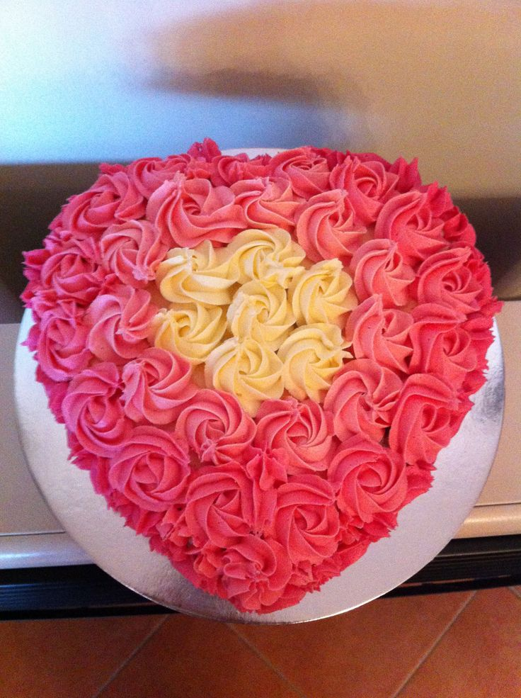 17 Best images about Client: Princess Heart Shaped Cake on ...