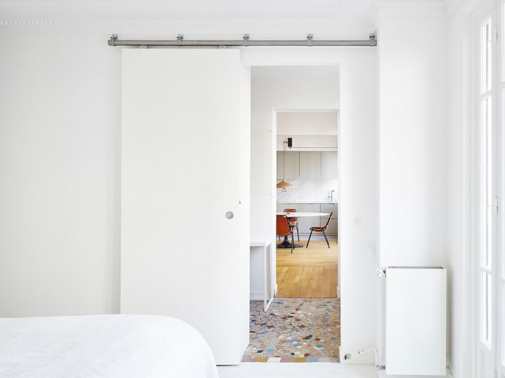 A renovated apartment in Paris
