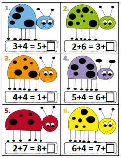 Peterson's Pad: Math Work Stations  understanding the equal sign(number balance)