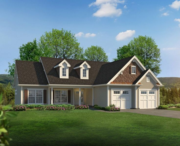 New England Ranch Home Plans