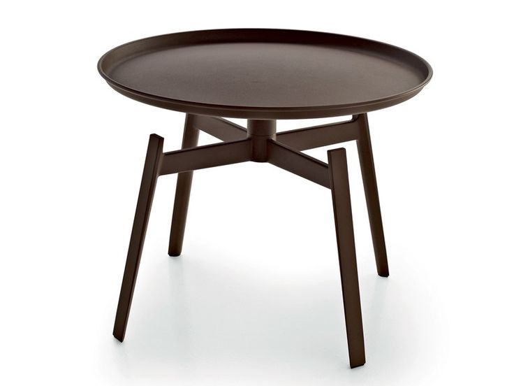 Round Corten™ Garden Side Table Husk Outdoor Collection By Bu0026B Italia  Outdoor, A Brand