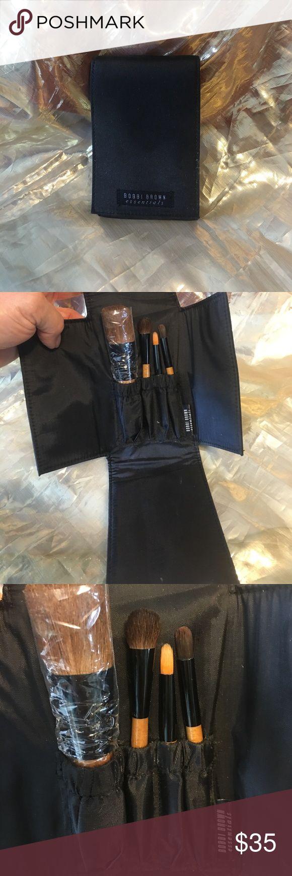 Bobbi Brown brush set Cool brush set with 4 brushes vintage Bobbi Bobbi Brown Makeup Brushes & Tools