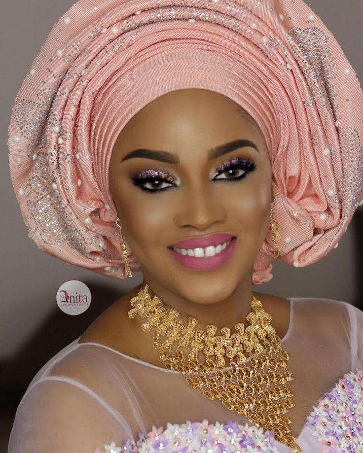 The grand wedding of Nana Shagari, the granddaughter of former  Nigerian President Shehu Shagari and her husband Salet Lukat, former  V...