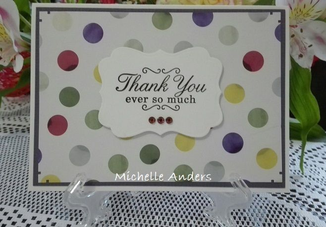 Thank You - Sincere Sentiments Stamp Set