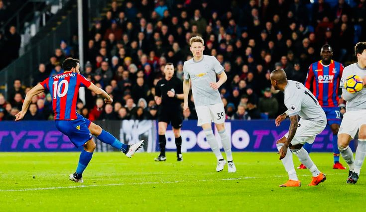 Week 29 : Crystal Palace 2-3 Man Utd - Andros Townsend (Photo credit : David Klein/Reuters)