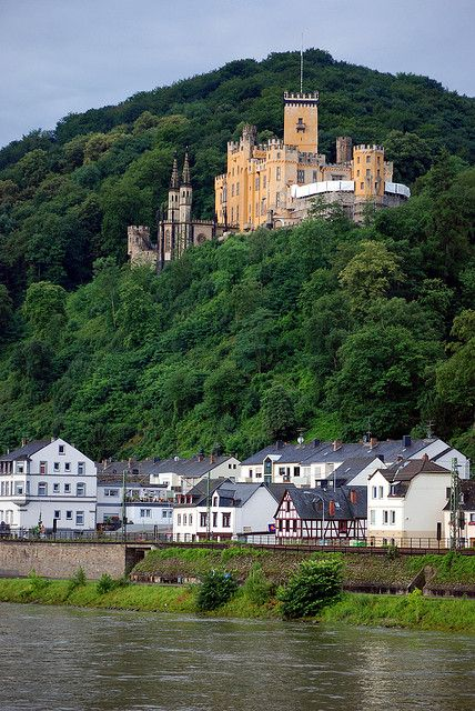 Stolzenfels Castle along the Rhine between Cologne and Rudsheim, Germany