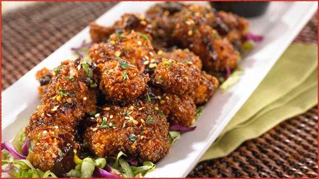 Sesame Jack Chicken Strips