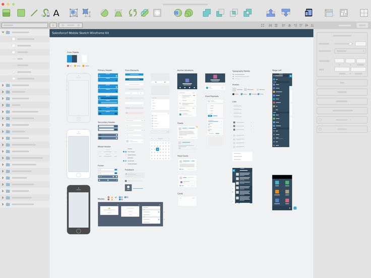 157 best ui kits guidelines resources images on pinterest ui salesforce1 mobile sketch wireframe kit eli brumbaugh ccuart Image collections