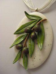 Αποτέλεσμα εικόνας για clay olive crafts