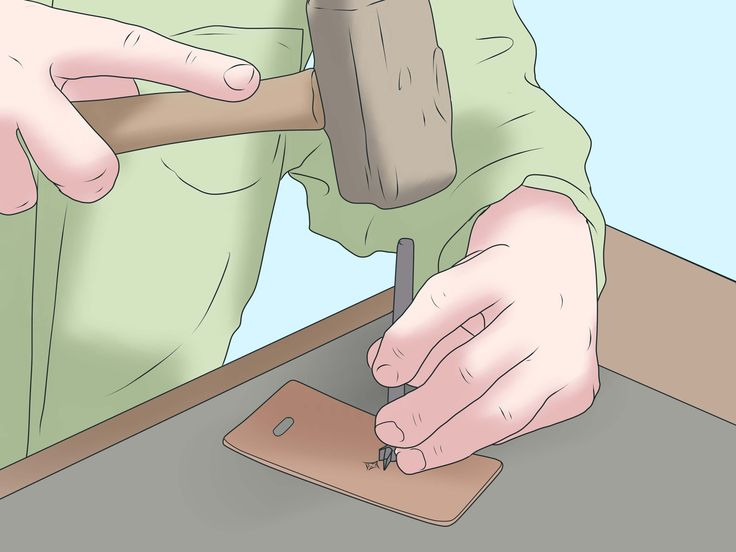 Leather working uses special tools to impress designs onto a leather surface. You can create a relief design by either stamping or pressing a metal shape into unfinished leather. If you don't have leather tools, choose the clamping method...