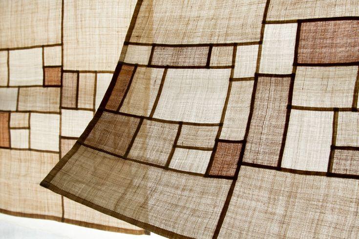 patchwork curtains
