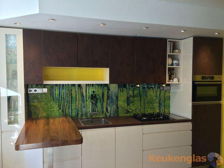 Glazen Achterwand Keuken Eindhoven : Glazen keuken achterwand met een afbeelding van Van Gogh – Undergrowth