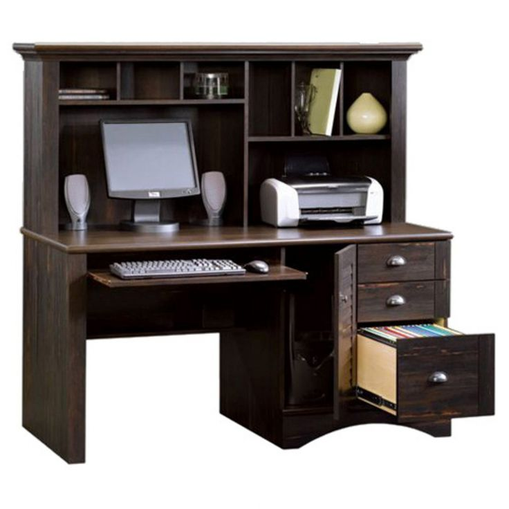 black computer desk with hutch home office desk furniture check more at http