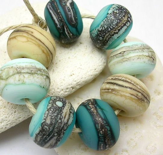 going to be trying out some lampwork beads in my new jewelry designs