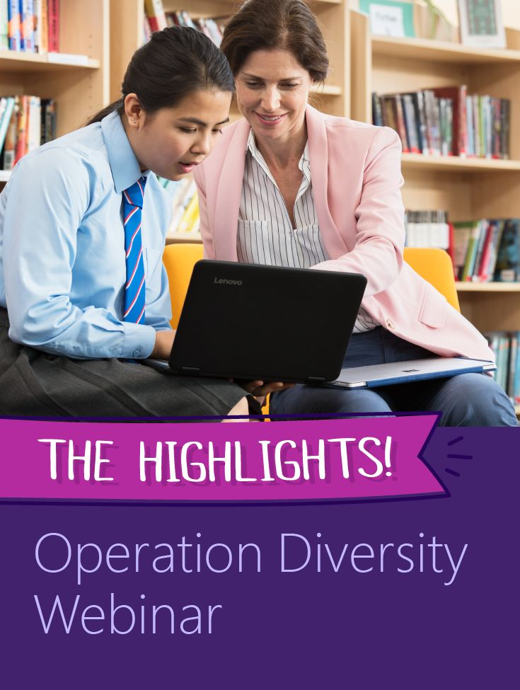 Want to watch Principal Product Manager Mike Tholfsen's Operation Diversity webinar about creating inclusive classrooms, but only have time for a quick recap? We've got you covered! Check out this summary featuring Office 365 and Microsoft Education tools, like Learning Tools and Immersive Reader.