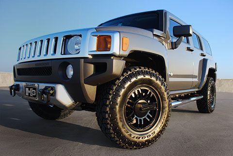 HUMMERGuy.net Showcase Vehicle Gets New Wheels and Goodyear DuraTracs   Hummer Guy