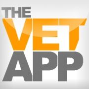 Our pretty little NEW icon. Catchy, huh? #MovingYouForward #thevetapp