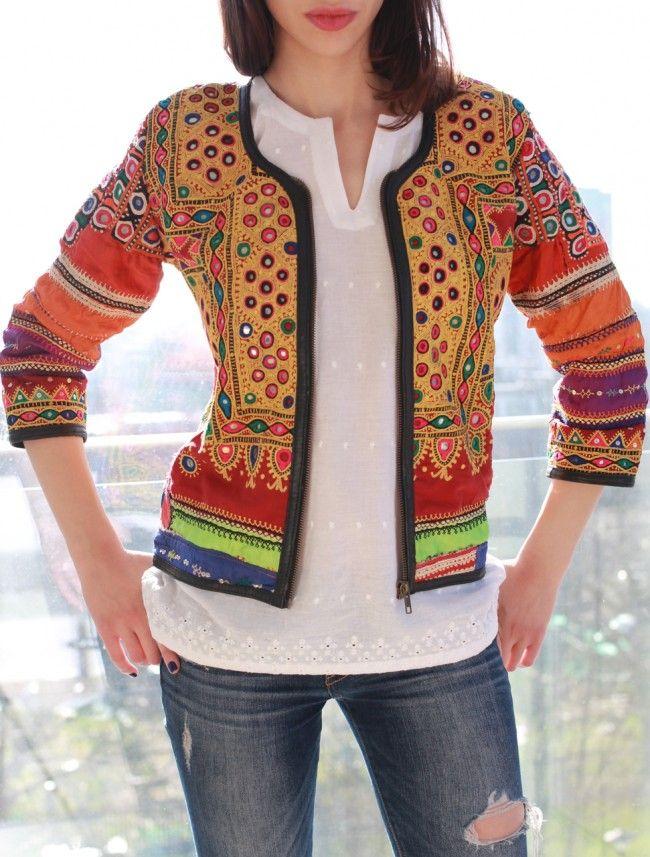 Our statement Anjuna Jacket will transform any outfit into rock-star attiire. Now available to shop online on be-snazzy.com #bohochic