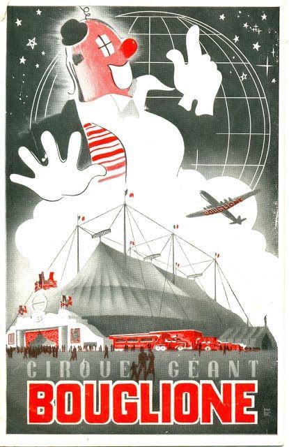 Circus collection: Cirque Bouglione 1956