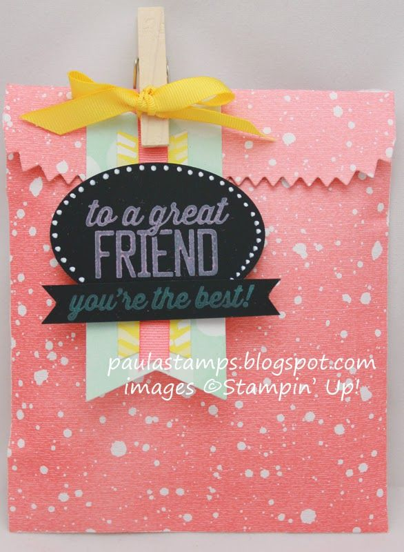 Stampin' with Paula: Stampin' Addicts Sale-A-Bration Blog Hop