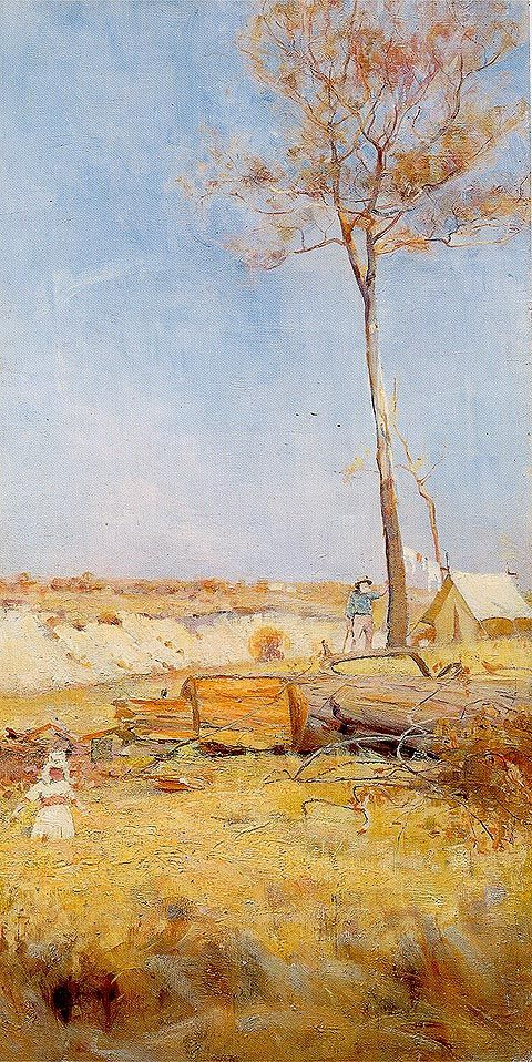 Under a southern Sun - Charles Conder