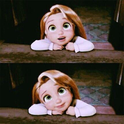 How cute she is ♡