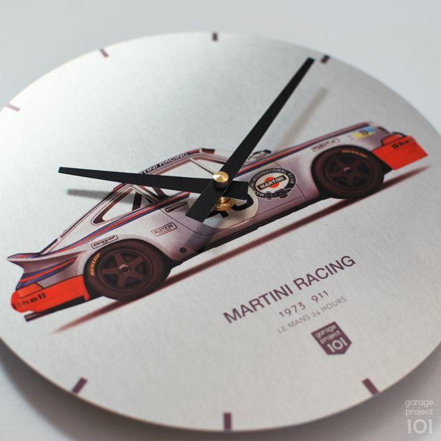 1973 Martini Racing Porsche Le Mans 24 Hours Wall Clock With Images Martini Racing Porsche Martini Racing Martini