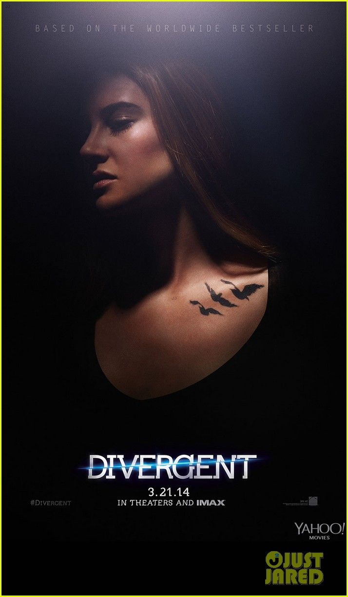 What pictures represent katniss everdeen yahoo answers - Shailene Woodley Theo James New Divergent Posters Shailene Woodley Theo