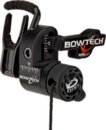 Qad Bowtech Ultra Arrow Rest Left Hand Red #QAD