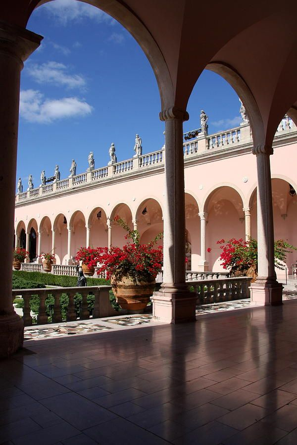 The John and Mable Ringling Museum of Art, Sarasota, FL. In all, more than 150,000 square feet (14,000 m) have been added to the campus, which includes the art museum, circus museum, and Ca' d'Zan, the Ringlings' mansion, which has been restored, along with the historic Asolo Theater.