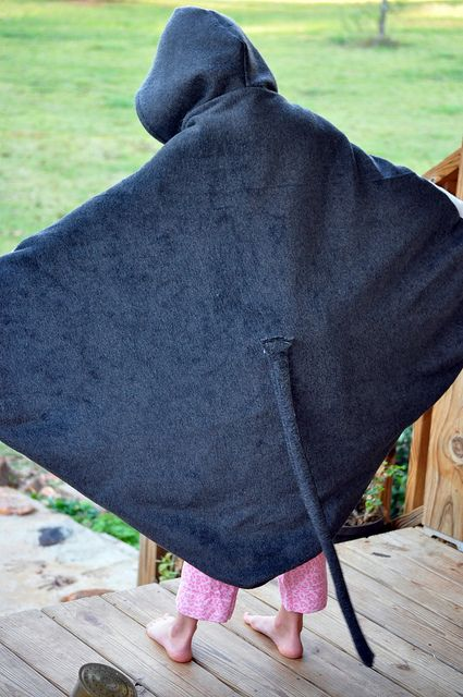 stingray costume - check website for pix of the front of the costume... it has candy pockets!
