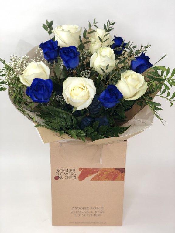 Blue Sapphire Wedding Anniversary Flowers # ...