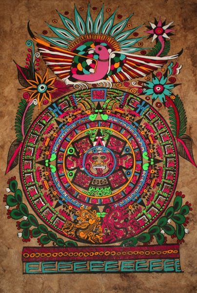 Hands-on Aztec History - Aztec calendar