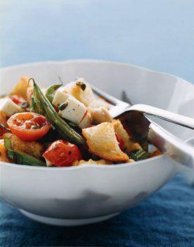Roasted-Vegetable Panzanella | Recipe | Roasted Vegetables, Vegetables ...