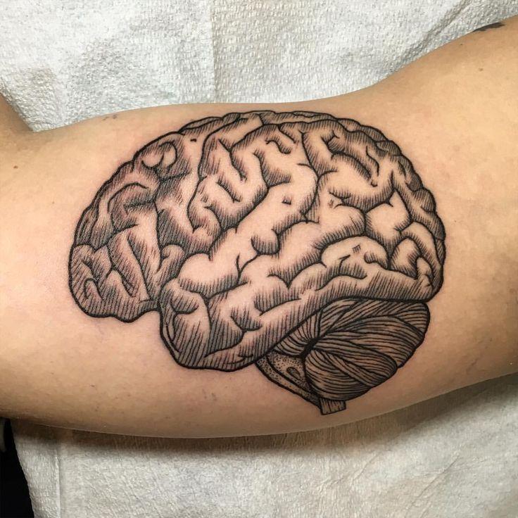 The 25 best brain tattoo ideas on pinterest alien for Brooklyn tattoo ideas