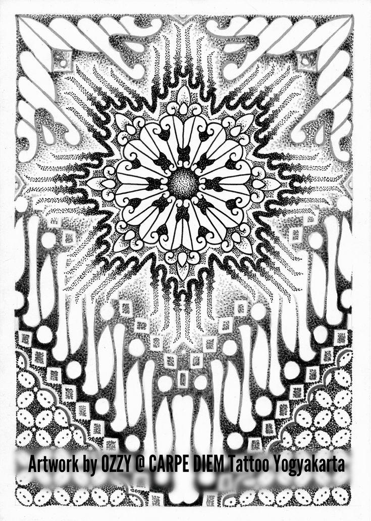 Batik Parang Mandala 1 Batik parang, Mandala, Mandala