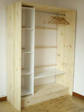 43 The Best DIY For Wardrobe That You Can Try | Closet ...
